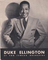DUKE ELLINGTON Et Son Fameux Orchestre, Fascicule Editions Musicales Brunswick, 8 Pages D'illustrations - Musique & Instruments
