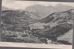 CPA A6 ALLOS  La Vallée Du Chadoulin Et Le Mont Pelat Panorama Vu Du Couchant - Altri Comuni