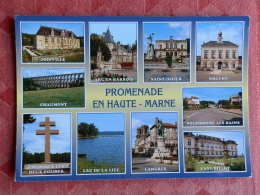 Dep 52 , Cpm  Promenade En HAUTE MARNE , Multivues , (12.883) - France