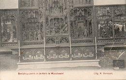 Wuestwezel - Beeldhouwwerk In De Kerk Te Wuestwezel / 1910 - Wuustwezel