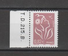 FRANCE / 2005 / Y&T N° 3757a ** : Lamouche ITVF GAO 0.82 € Lilas-brun Clair - Gomme D'origine Intacte - Frankreich