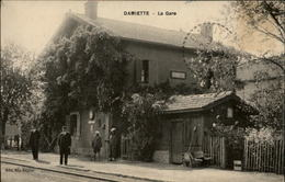 EGYPTE - DAMIETTE - Gare - Cheminots - Damietta