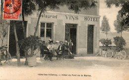 CPA - ISLES-les-VILLENOY (77) - Aspect De L'Hôtel-Restaurant Du Pont De La Marne En 1909 - Francia