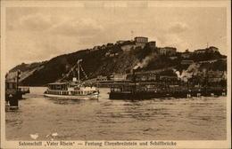 ALLEMAGNE - Binger Personenschiffahrt - Salonschiff Vater Rhein - Allemagne