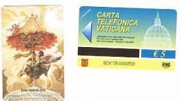 VATICANO-VATICAN-VATICAN CITY  CAT. C&C   6136 - SEDE VACANTE 2005 - PADIGLIONE CAMERA APOSTOLICA.CARLO MALLI. SEC.XVIII - Vatican