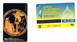 VATICANO-VATICAN-VATICAN CITY  CAT. C&C    6127 - EDIPO E LA SFINGE, V SEC. A.C. - MUSEO GREGORIANO ETRUSCO - Vatican