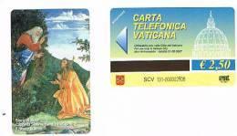 VATICANO-VATICAN-VATICAN CITY  CAT. C&C     6131 - STORIE DI MOSE': IL ROVETO ARDENTE. S.BOTTICELLI - Vatican
