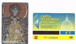 VATICANO-VATICAN-VATICAN CITY  CAT. C&C    6126 - MARIA MADRE DEL REDENTORE . CAPPELLA REDEMPTORIS MATER - Vatican