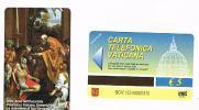 VATICANO-VATICAN-VATICAN CITY  CAT. C&C     6132 - 2005. ANNO DELL'EUCARESTIA. LA COMUNIONE DI S.GIROLAMO.DOMENICHINO - Vatican