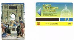 VATICANO-VATICAN-VATICAN CITY  CAT. C&C      6128  - STORIE DI MOSE': PUNIZIONE DI CORE, DATAN E ABIRAM.S.BOTTICELLI - Vatican