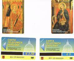 VATICANO-VATICAN-VATICAN CITY  CAT. C&C    6119-6120   ANNUNCIAZIONE (PART.). NICOLO'  DA VOLTRI - Vatican