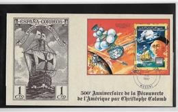 Comores 500° Anniversaire De La Découverte Par  Christophe Colomb - Christopher Columbus