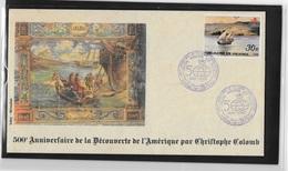Asie Corée 500° Anniversaire De La Découverte Par  Christophe Colomb - Christopher Columbus