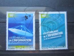 VEND BEAUX TIMBRES DE POLYNESIE N° 719 + 720 , XX !!! - Polynésie Française