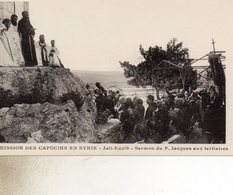 MISSIONS  DES CAPUCINS  EN SYRIE   A JALL  EDDIB  Zrmon Du Pere Jacques - Syria