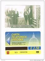 VATICANO-VATICAN-VATICAN CITY  CAT. C&C   6139 -  1930.PIO XI INAUGURA CENTRALE TELEFONICA VATICANA CON G.MARCONI - Vatican