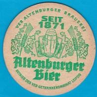 Altenburger Brauerei Altenburg ( Bd 1664 ) - Beer Mats