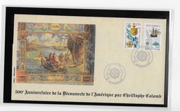 Strasbourg  500° Anniversaire De La Découverte Par  Christophe Colomb - Christopher Columbus