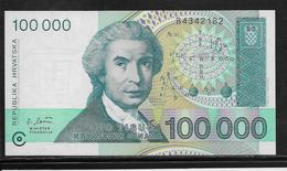 Croatie - 100000 Dinara - Pick N°27 - NEUF - Kroatien