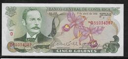 Costa Rica - 5 Colones - Pick N°236 - NEUF - Costa Rica