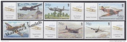 British Indian Ocean 2003 Yvert  267- 272, Centennial Of Flight, Military Planes - MNH - Territorio Británico Del Océano Índico