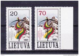 Litouwen 1991 Nr 415/16 ** Zeer Mooi Lot Krt 2669 - Collections (without Album)