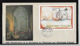 Turks Et Caicos 500° Anniversaire De La Découverte Par  Christophe Colomb - Christopher Columbus