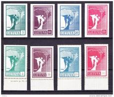 Litouwen 1990 Nr 390/97 Zeer Mooi Lot Krt 2666 - Collections (without Album)