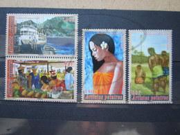 VEND BEAUX TIMBRES DE POLYNESIE N° 791 - 794 , XX !!! - Polynésie Française