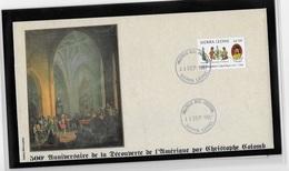 Sierra Léone 500° Anniversaire De La Découverte Par  Christophe Colomb - Christopher Columbus