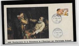 Turks Et Caicos Grand Turk 500° Anniversaire De La Découverte Par  Christophe Colomb - Christopher Columbus