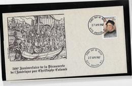 Grenada 500° Anniversaire De La Découverte Par  Christophe Colomb - Christopher Columbus