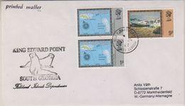 South Georgia 1987 King Edward Point Ca 31 Jl 1987 Cover (38431) - Brits Antarctisch Territorium  (BAT)