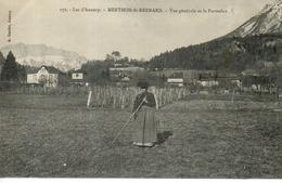 Menthon St Bernard - Vue Générale Et Le Parmelan - France