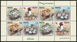 Belarus 2018 MS MNH Nestling, Fledgling, Baby Birds Oisillons Birds Bird Oiseaux Oiseau - Vogels
