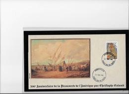 Anguilla 500° Anniversaire De La Découverte Par  Christophe Colomb - Christopher Columbus