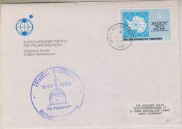 British Antarctic Territory Signy 1985 Cover Alfred Wegener Institut Ca13 Ja 85 Signy (38433) - Brits Antarctisch Territorium  (BAT)