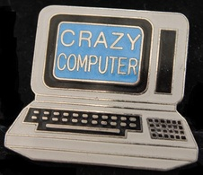 PC - CRAZY COMPUTER - DEMONS & MERVEILLES  -        (ROSE) - Computers