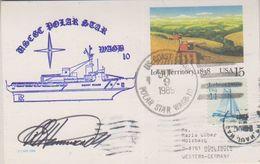 USA 1989 Polar Star Postal Stationery Ca Jul 9 1989 Signature  (38434) - Poolshepen & Ijsbrekers