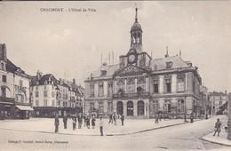 52----CHAUMONT---L'hôtel De Ville--voir 2 Scans - Chaumont