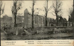 BELGIQUE - PERVYSE - Ruines - Guerre 14-18 - Belgique