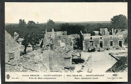 CPA - Guerre 1914-15... SAINT AGNANT Près Du Bois D'Apremont - Guerre 1914-18