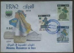 Iraq 2018 FDC Mineral Resorces In Iraq - Iraq