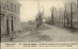 BELGIQUE - DIXMUDE - Ruines - Guerre 14-18 - Diksmuide