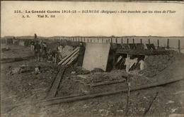BELGIQUE - DIXMUDE - Ruines - Guerre 14-18 - Tranchée - Diksmuide