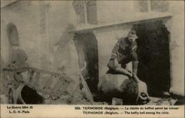 BELGIQUE - TERMONDE - Ruines - Guerre 14-18 - - Belgique
