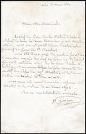 """1861 - L.A.S. GUIGUE - """"Le Chef De Gare De La Station D'ARLES à Refusé De Livrer Les Deux Sommiers à N.v. Martin Attendu - Documentos Históricos"""