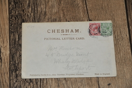 2077   5 View Letter Card  Of Chesham - 1924 - Buckinghamshire