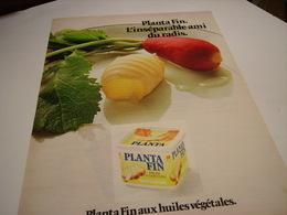 ANCIENNE AFFICHE  PUBLICITE  MARGARINE PLANTA FIN  1980 - Posters