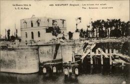 BELGIQUE - NIEUPORT - Ruines - Guerre 14-18 - écluses - Nieuwpoort